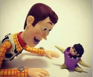 boo, disney, and woody image