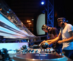dj, party, and turntable image