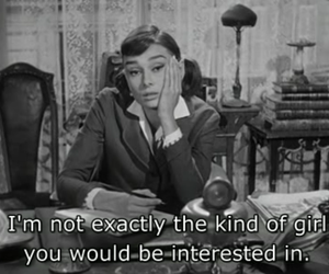 girl, quotes, and audrey hepburn image
