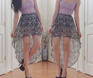 dress, moda, and pretty image