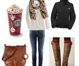 Polyvore and cozy winter outfit image
