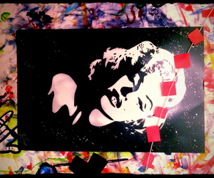 aerosol, Marilyn Monroe, and poster image