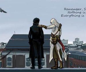 sherlock and assassin's creed image
