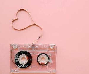 casette, pink, and ♥ image