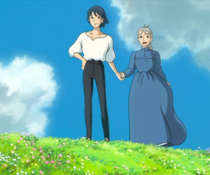 cartoon, animation, and howl's moving castle image