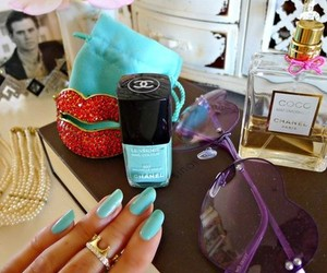 nails, chanel, and cute image