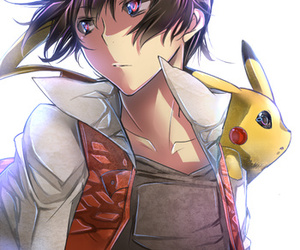 pikachu, red, and pokemon adventures image