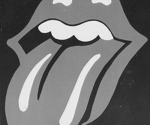 rolling stones, music, and lips image