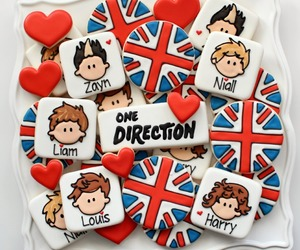 one direction, Cookies, and 1d image