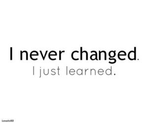 quote, change, and learn image