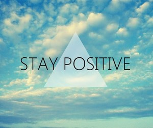 positive, quote, and sky image