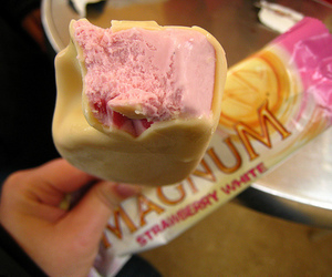 ice cream, Magnum, and food image