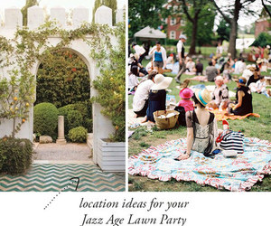 garden party, hug, and vintage image