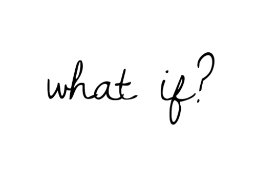 What if? shared by Nobody. on We Heart It