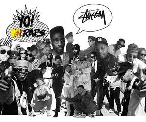 80s, rap, and 90s image