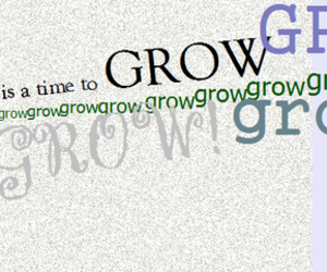 everyday, grow, and text image