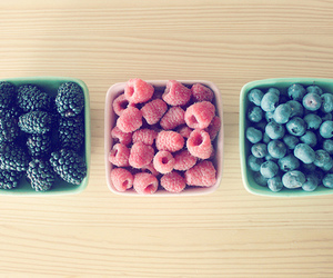food, fruit, and blueberries image