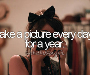 bucket list, girl, and before i die image