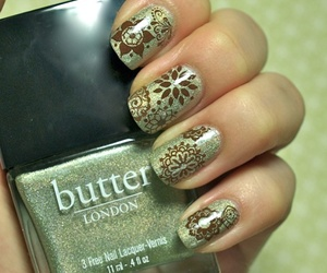butter london, henna, and manicure image