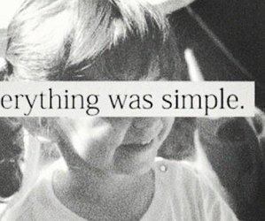 simple, quotes, and child image