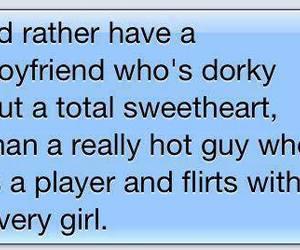 boyfriend, dorky, and text image
