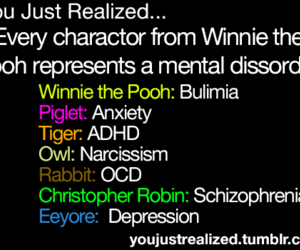 you just realized and winnie the pooh image