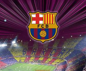 Barcelona, messi, and camp nou image