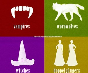 vampire, Doppelganger, and witch image
