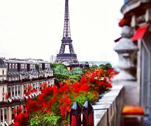 paris, flowers, and france image