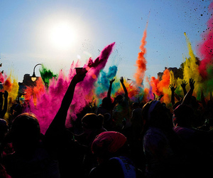 party, colors, and color image