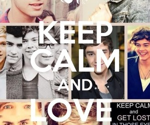 keep calm, one direction, and 1d image