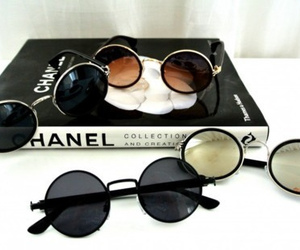 chanel, fashion, and sunglasses image
