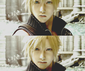 cloud, anime, and final fantasy image