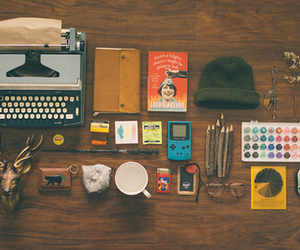 vintage, hipster, and book image
