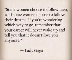 Lady gaga, tumblr, and quote image