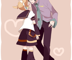 vocaloid, mikuo, and yaoi image