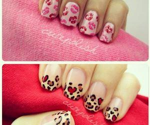 nails, kiss, and cute image