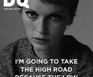 Mia Farrow, high road, and quote image