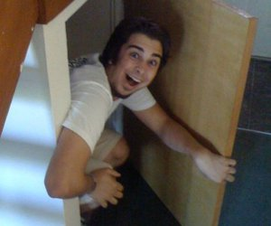 a very potter musical, cupboard, and joey richter image
