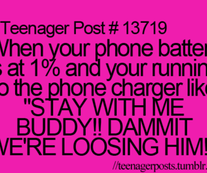 phone, funny, and teenager post image