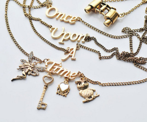 gold, once upon a time, and kette image