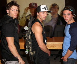 emblem3 and drew chadwick image