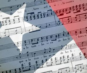 blue, musica, and chile image