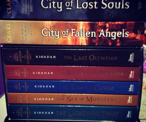 books, the mortal instrument, and novels image