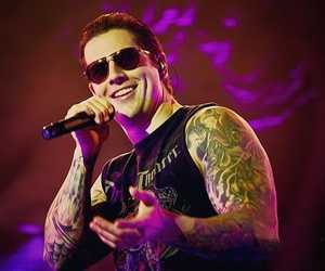 avenged sevenfold, m shadows, and a7x image