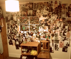 bedroom, Collage, and fashion image