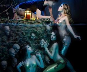 mermaid and boy image