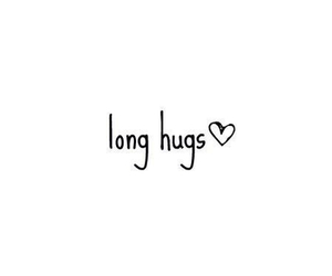 hug, love, and long image