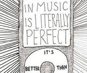 music, song, and perfect image