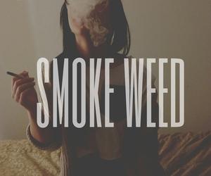 smoke, weed, and marijuana image